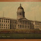 Vintage New State Capitol Augusta Maine Postcard