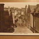 Vintage Commercial Street Lerwick Shetland Islands UK Postcard