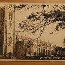 Vintage Lancaster Parish Church UK Postcard