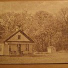Vintage Limeville Schoolhouse Lanchaster County PA Postcard