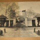 Vintage North Lodge Gate Mount Vernon Virginia Postcard