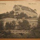 Vintage Nurenberg Burg Westseite Postcard