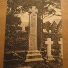 Vintage Coniston West Side Of Ruskin Memorial UK Postcard
