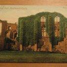 Vintage Banqueting Hall Kenilworth Castle UK Postcard
