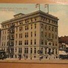 Vintage Mulvane Bank Of Topeka Bldg. Topeka Kansas Postcard