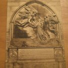 Vintage Glouchester Cathedral Morley Monument Postcard