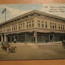 Vintage Salisbury-Earl Building And Post Office Idaho Falls Idaho Postcard