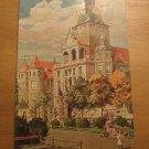 Vintage Munchen National Museum Germany Postcard Richard Agner