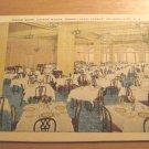 Vintage Dining Room Colton Manor Pennsylvania Ave Atlantic City NJ Postcard