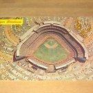 Vintage Air View Dodger Stadium Los Angeles CA Postcard
