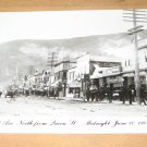 Vintage First Ave North From Queen St Canada Postcard