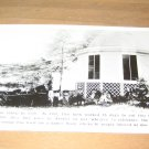 Vintage Huge 1890 Tree Stump Photo Postcard