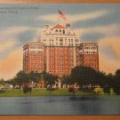 Vintage Lake Cliff Showing Cliff Towers Hotel Dallas TX Postcard