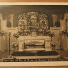 Vintage Sanctuary of Saint Frances Xavier Cabrint Chapel Postcard
