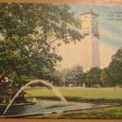 Vintage Quadrangle Fort Sam Houston San Antonio TX Postcard