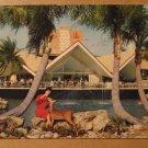 Vintage Hospitality House Busch Gardens Tampa FL Postcard