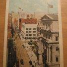 Vintage Fourth Ave Louisville Kentucky Postcard