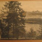 Vintage Suspension Bridge Oregon City, Oregon Postcard