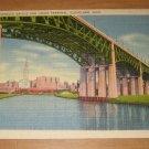 Vintage Lorain Carnegie Bridge And Union Terminal Cleveland Ohio Postcard