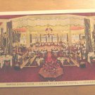 Vintage Marine Dining Room Edgewater Beach Hotel Chicago IL Postcard