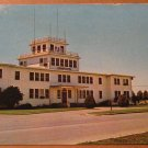 Vintage Administration Building USNAS Chase Field Beevile Texas Postcard