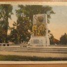 Vintage War Memorial Pittsfield Mass Postcard