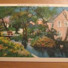 Vintage The Old Mill Sandwich Cape Cod Massachusetts Postcard