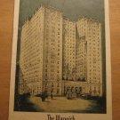 Vintage Warwick Hotel Philadelphia Pennsylvania Postcard