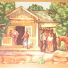 Vintage Spruce Tree Lodge Mesa Verde National Park CO Postcard