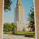 Vintage Capitol Tower Lincoln Nebraska Postcard