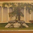 Vintage Interior Warren G Harding Memorial Marion Ohio Postcard