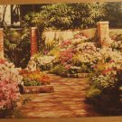 Vintage Spring Floral Display Missouri Botanical Garden St Louis Postcard