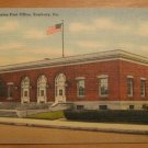 Vintage United States Post Office Sunbury PA Postcard