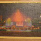 Vintage New Illuminated Fountain On Capitol Plaza Washington D.C. Postcard