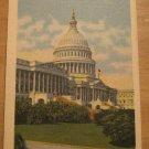 Vintage United States Capitol Dome Washington D.C. Postcard