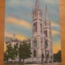 Vintage Immaculate Conception Cathedral Denver Colorado Postcard