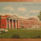 Vintage Nashua Senior High School New Hampshire Postcard