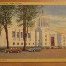 Vintage State Capitol Salem Oregon Postcard