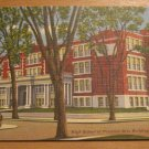 Vintage High School Of Practical Arts Building Manchester New Hampshire Postcard