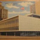 Vintage Dallas Public Library Dallas Texas Postcard