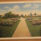 Vintage Circle Park Deerings Oaks Portland Maine Postcard