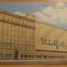 Vintage Titche Goettinger Department Store Dallas Texas Postcard