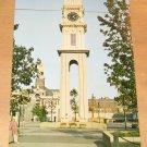 Vintage Dubuque Town Clock DubuqueIowa Postcard