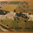 Vintage Rutter Bros Dairy York PA Postcard