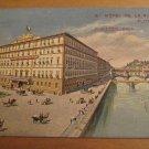 Vintage Hotel De La Ville Florence Postcard J. Ritter
