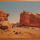 Vintage Balanced Rock And Steamboat Rock Colorado Postcard