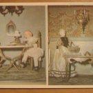 Vintage Marie's Doll Museum Weatherford Texas Postcard