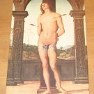 Vintage Saint Sebastian Painting By Artist Vannuchi Postcard