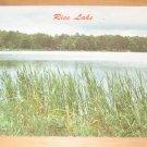 Vintage Rice Lake Spooner Wisconsin Postcard