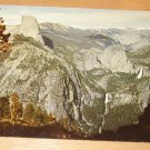 Vintage High Sierra From Glacier Point Postcard